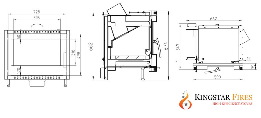 Kingstar Elm landscape boiler specification